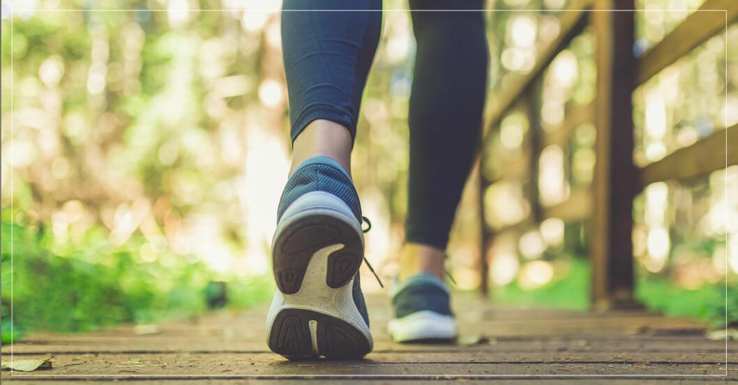 Så många steg behöver du gå för att förlänga livet