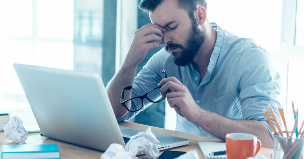 Stress kan orsaka förtidig död hos män, visar en ny studie.