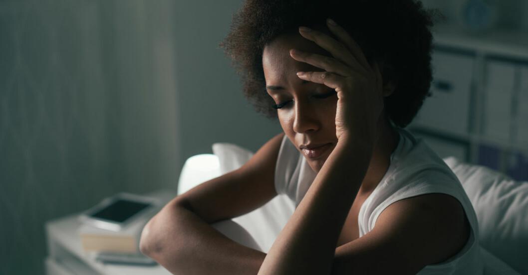 Tecken på stress.