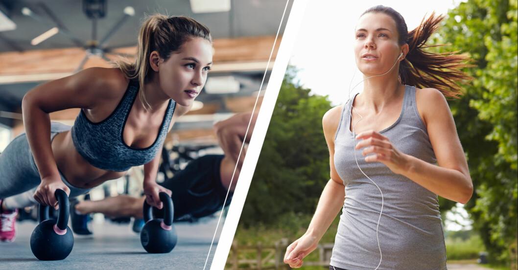 Styrka eller konditionsträning bäst?