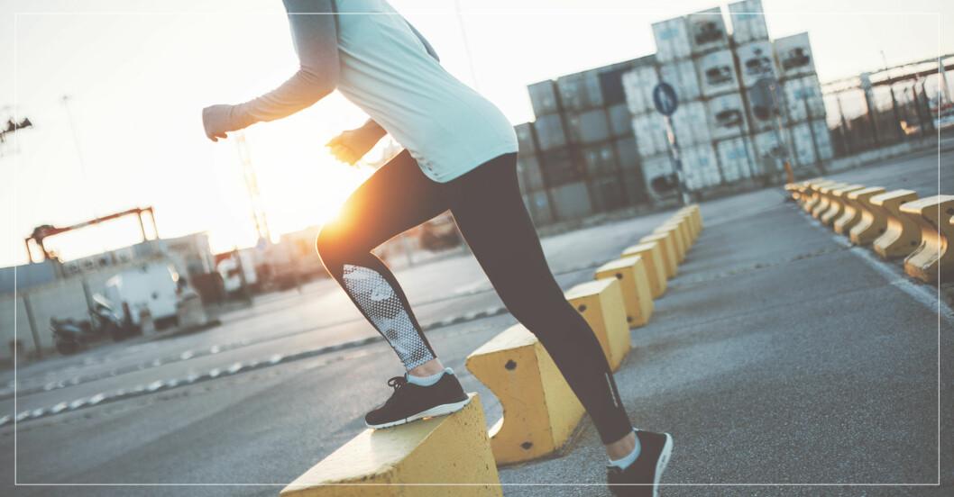 Styrkeövningar för löpare