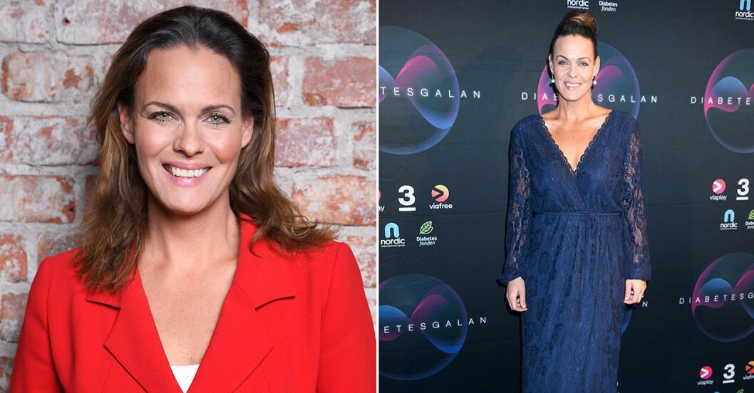 Suzanne Sjögren har gått ner i vikt.