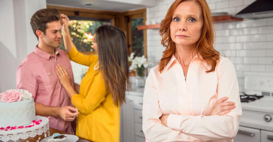 Mamman uppskattar inte sonens fru – vad ska hon göra?