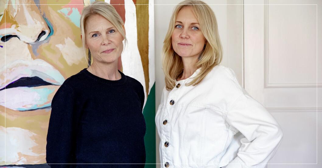 Josephine Appelqvist och Anna Sander, grundare av den ideella organisationen Talita som hjälper kvinnor ur prostitution.