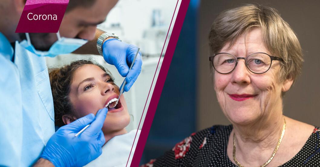 Tandläkare och läkare under corona, Agnes Wold svarar