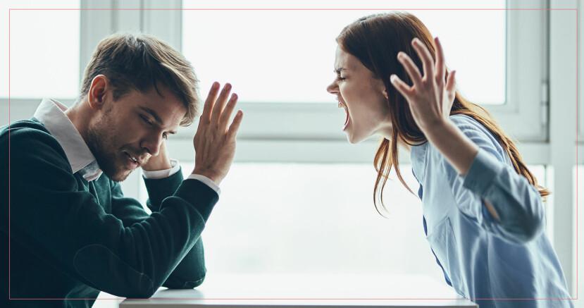 tappar humöret på sin partner