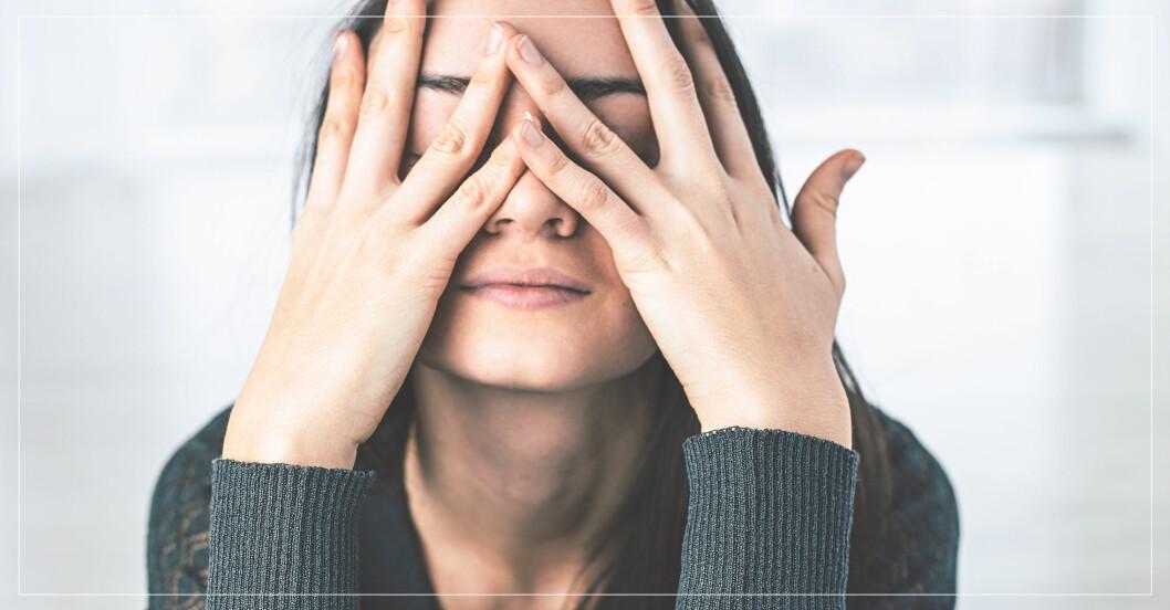 stresstecken du bör hålla koll på – huvudvärk