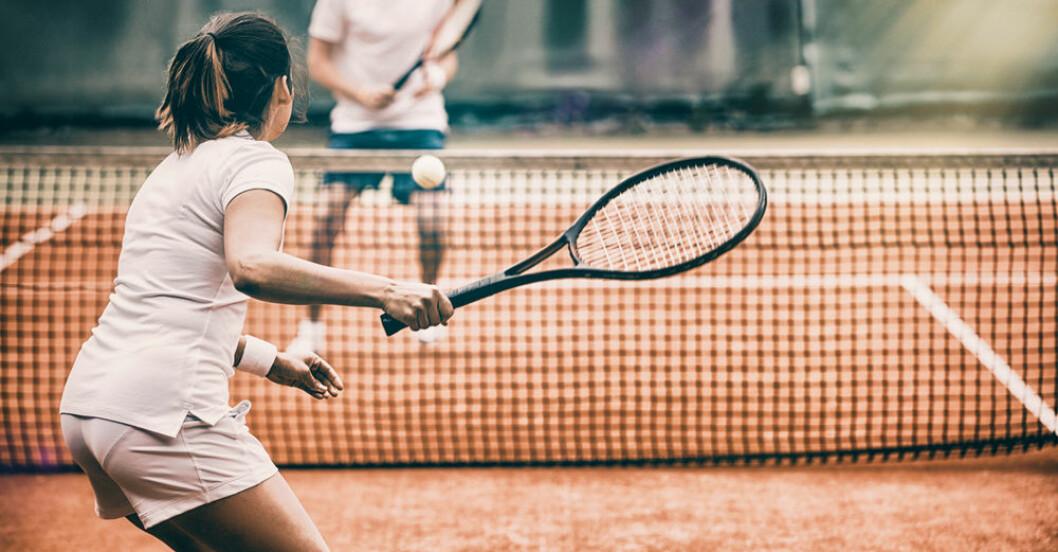 Tennis är bästa träningen för långt liv.