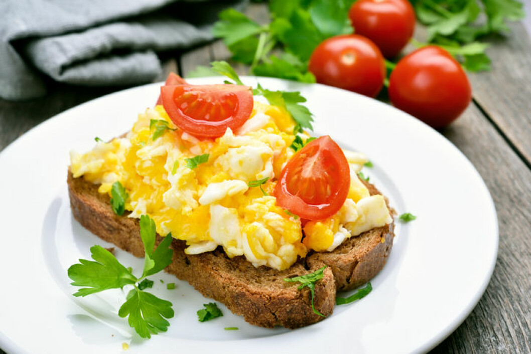 recept äggröra