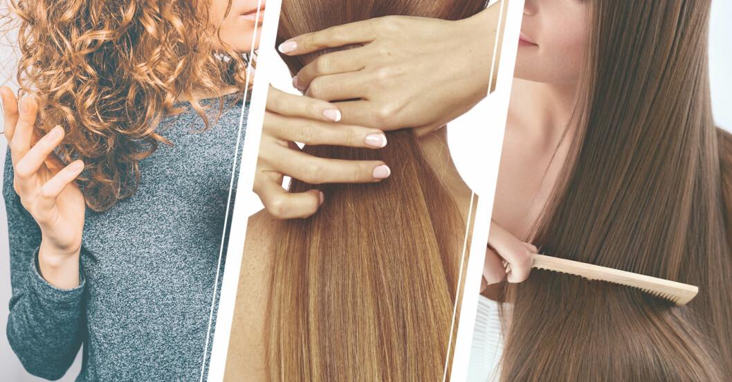 kvinnor som vill ha tjockare hår