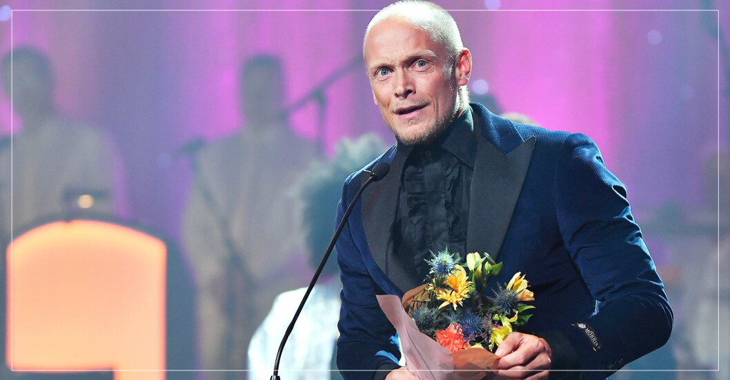 Tobias Karlsson på QX-galan 2020.