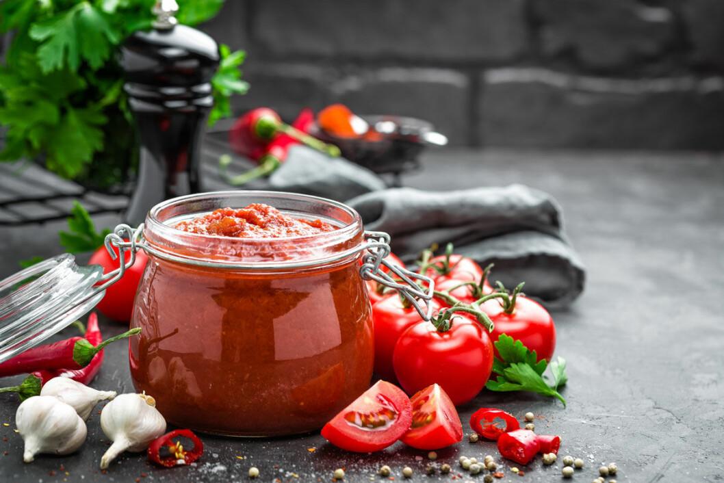 Tomater blir nyttigare om de hettas upp.