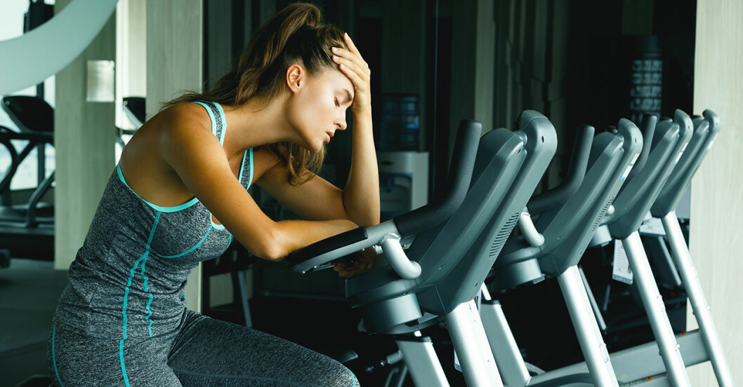 Är det okej att träna när man är sjuk?