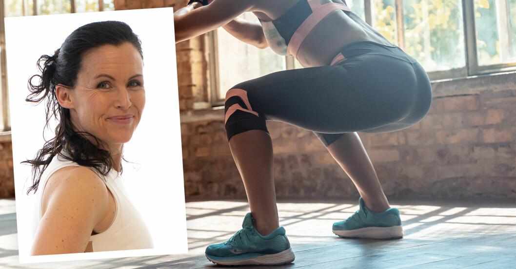Sandra Hiort tipsar om övningar för att träna stark rumpa