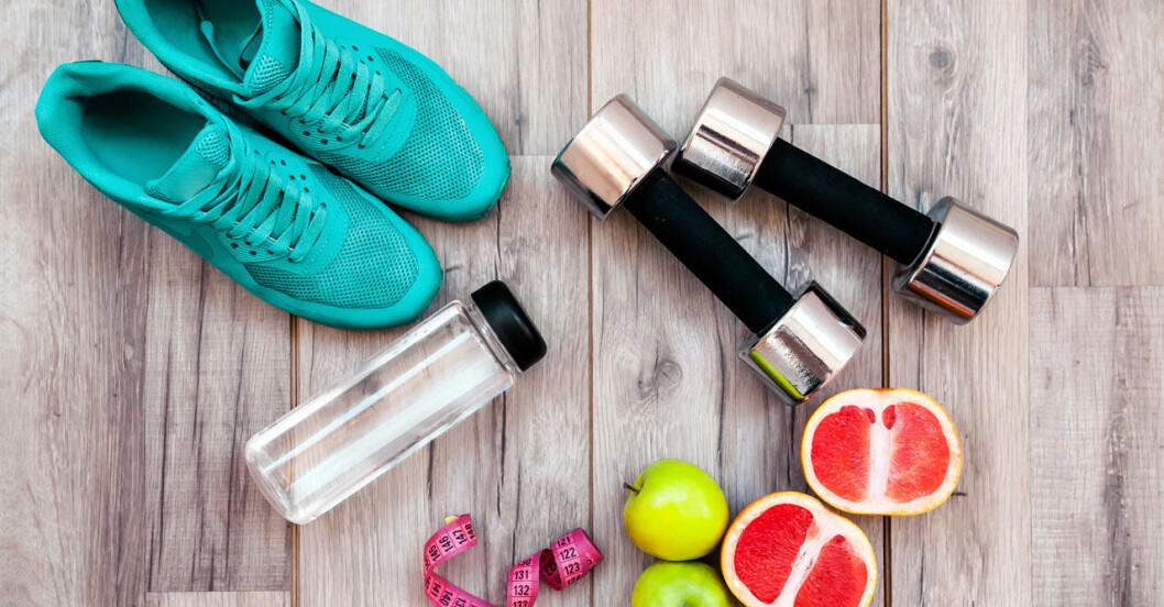 Så ska du balansera kost och motion.