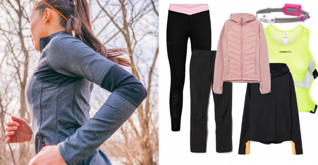 Träningskläder för utomhusträning vinter