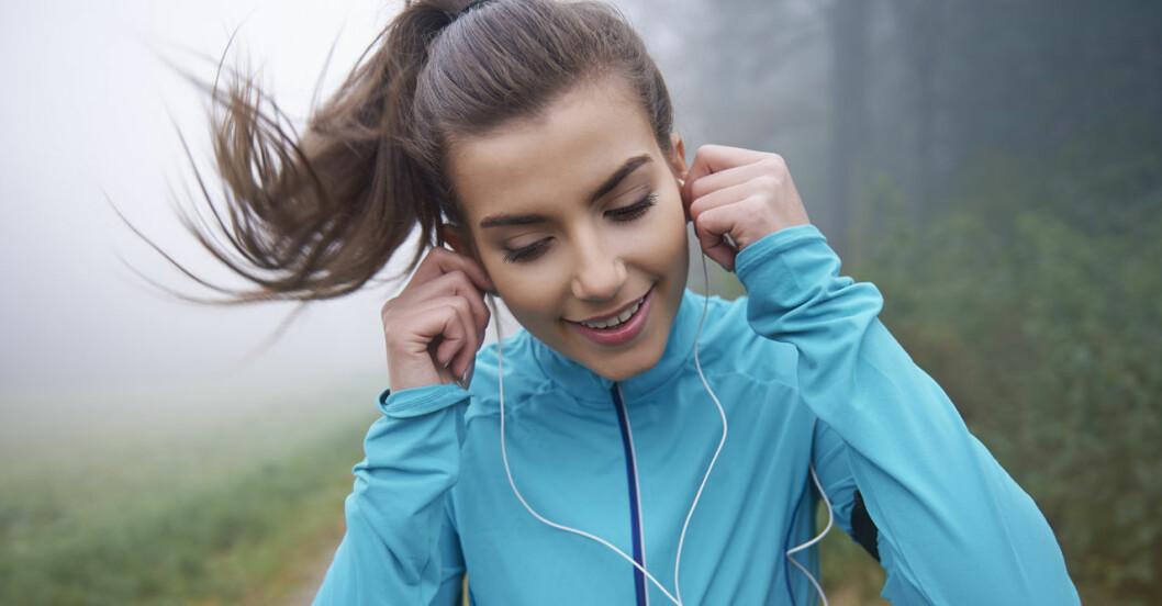 Med rätt musik orkar du träna hårdare.
