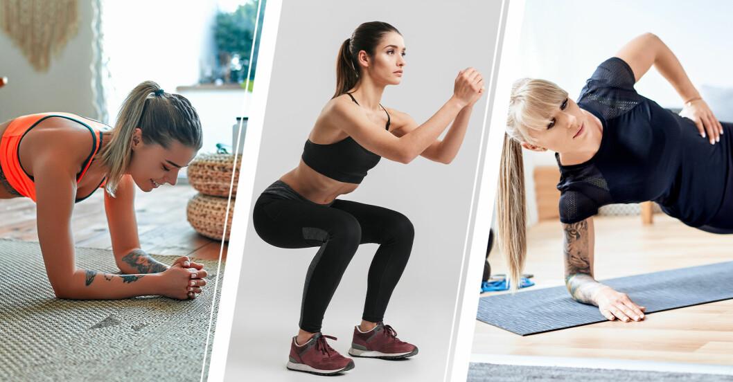 Bästa träningsövningarna efter ett träningsuppehåll