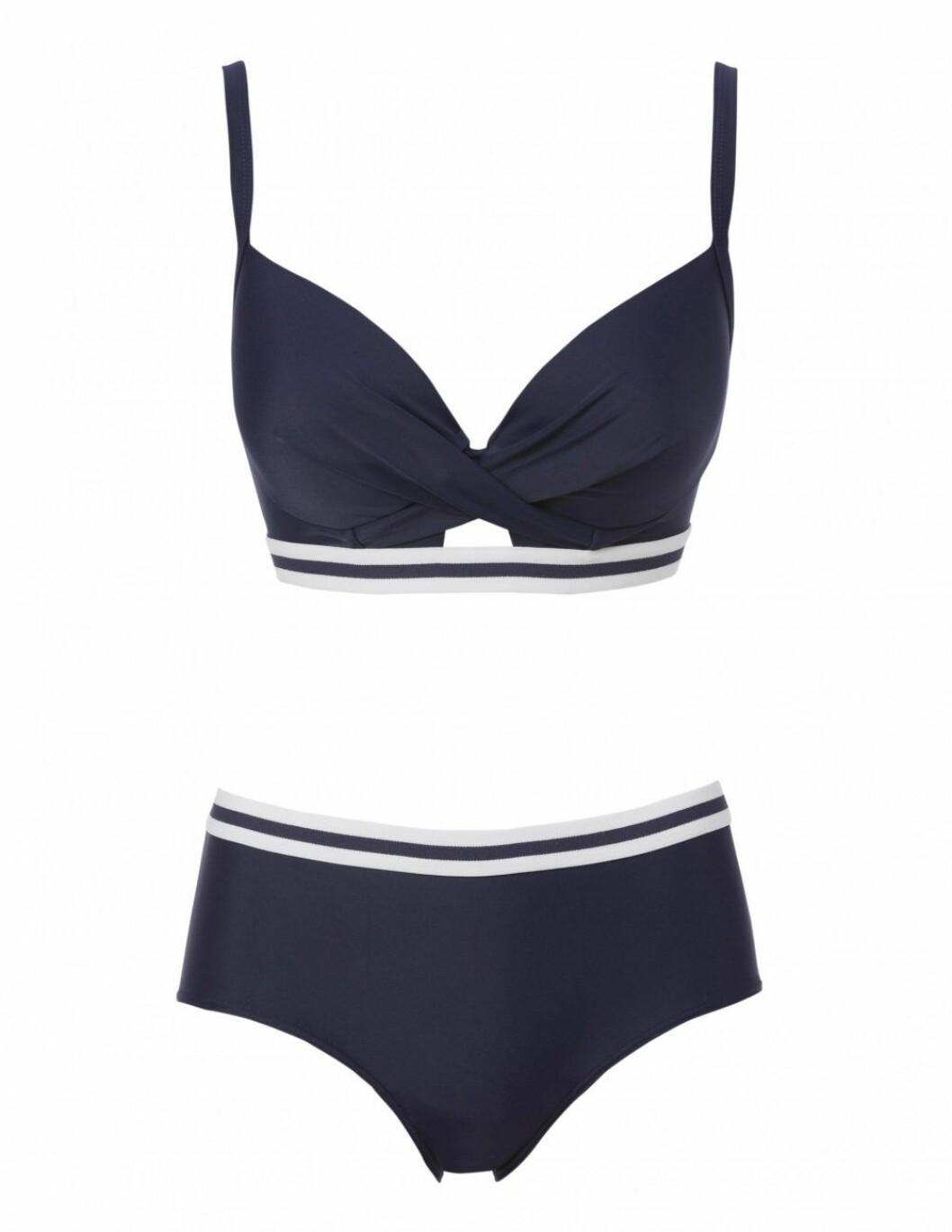 Tvåfärgad bikini från Trofé.