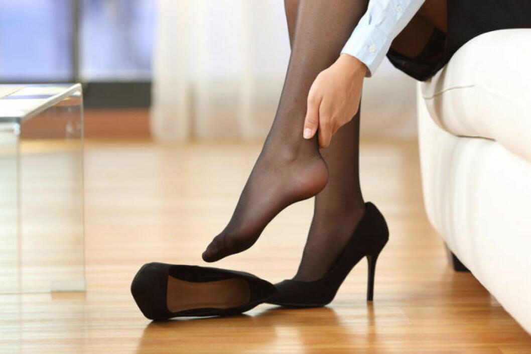 Många har säkert drabbats av trötta fötter