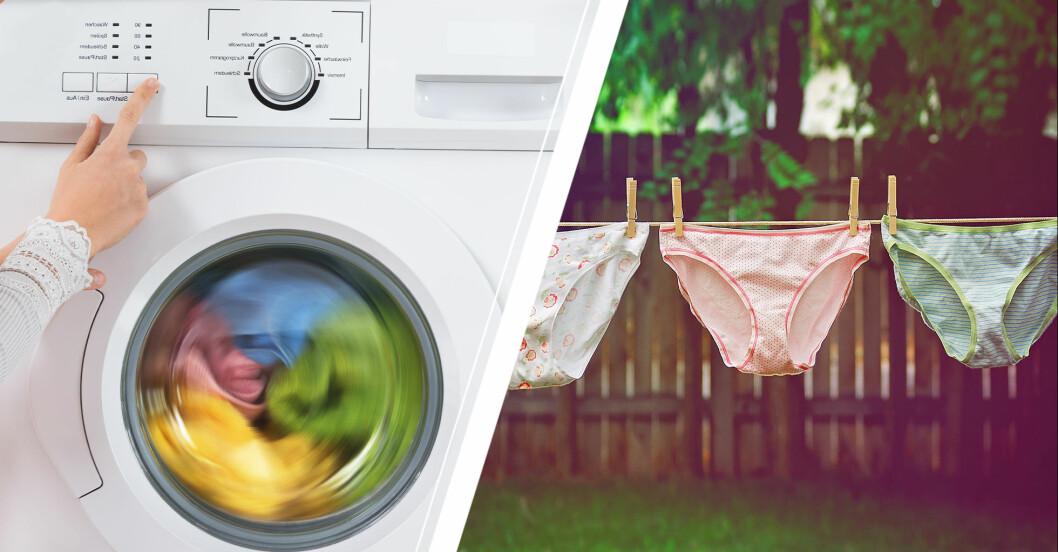 Så tvättar du underkläderna på rätt sätt