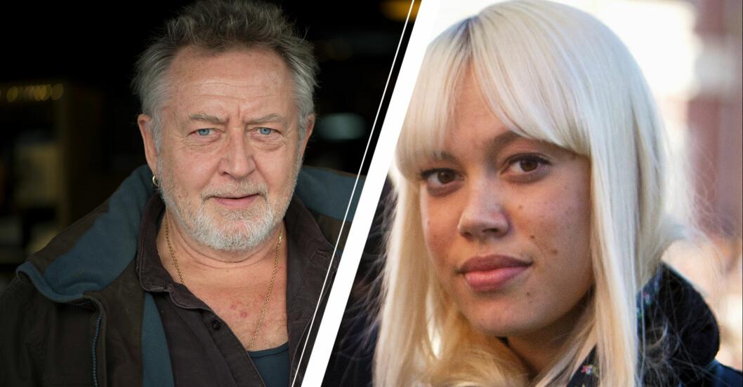 Ulf Lundell/ Ninna Prage.