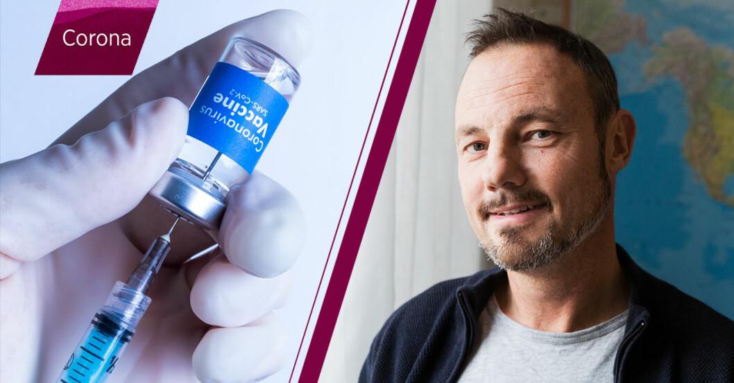 Vaccin och Niklas Arnberg.
