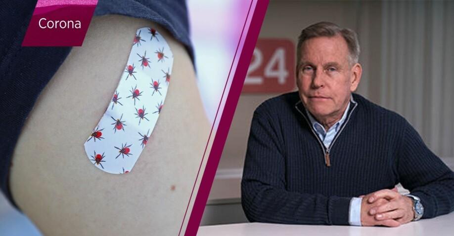 Vaccinerad arm TBE och immunologen Rolf Gustafson