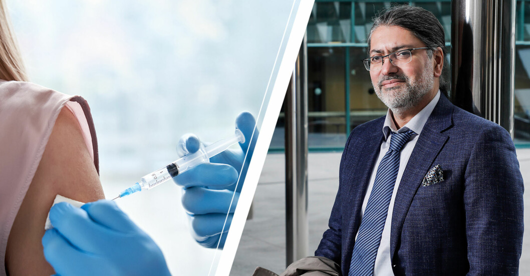 Ali Mirazimi, vaccin- och virusforskare vid KI.