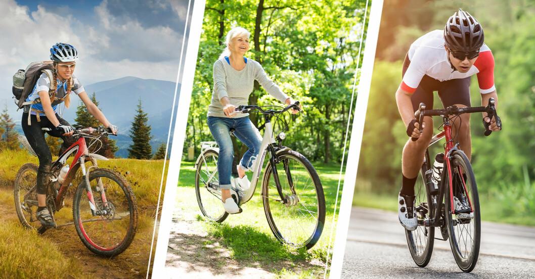 Olika typer av cyklar – hitta rätt för dig!