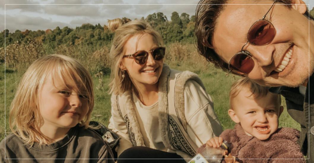 vanja wikström med familj
