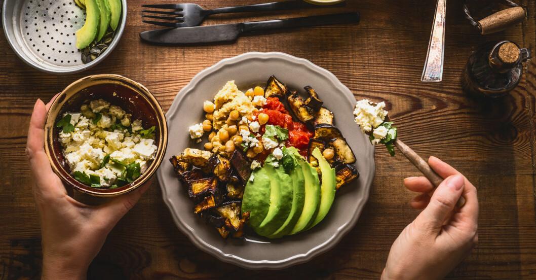Veganmat kan förebygga både diabetes och övervikt.