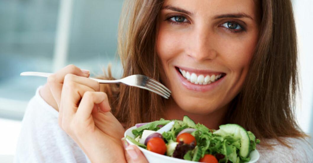Vegetarisk kost är bra för blodtrycket.