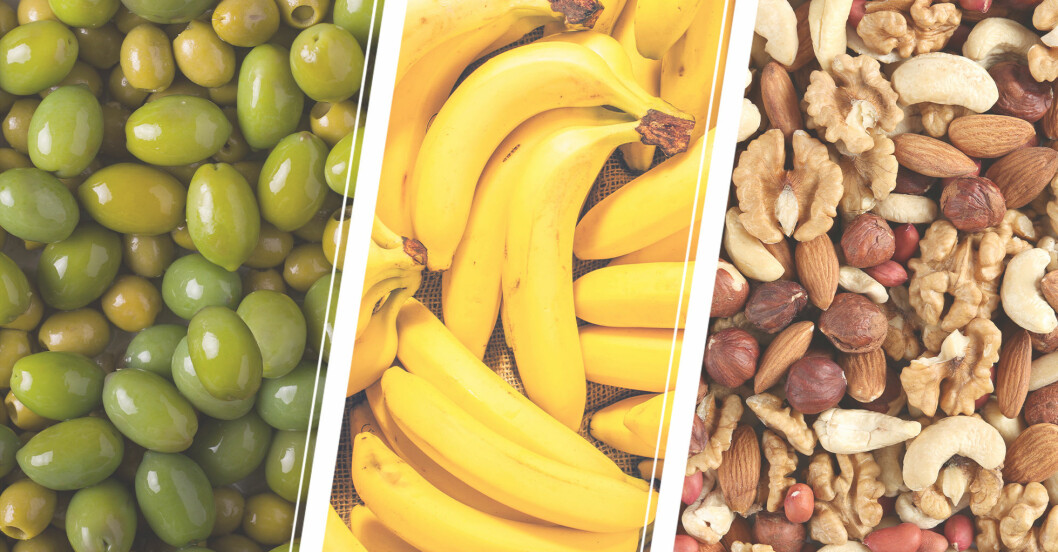 oliver bananer nötter – vegoråvaror att undvika