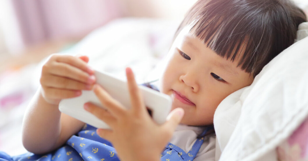 WHO nya riktlinjer för skärmanvändande för barn.