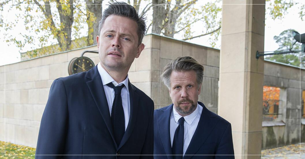 Fredrik Wilkinsson och Filip Hammar
