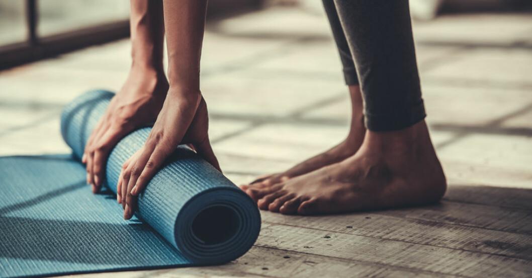 Att yoga gör dig mer självmedveten.