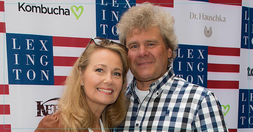 Yvonne Ryding och Mikael Jonasson bodde tillsammans i Östersund.